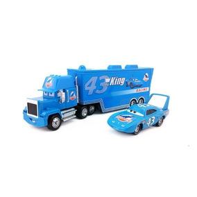 Caminhão Mack + Rei King Dinoco Carros 1 Original Mattel