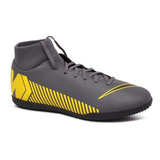 Tênis Futsal Nike Superfly 6 Club Ah7371-070 Cinza/amarelo