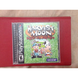 Harvest Moon Ps1 Back To Nature Natsume Barato Excelente Con