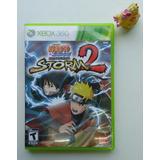 Naruto Shippuden Ultimate Ninja Storm 2 Xbox 360 Garantizado