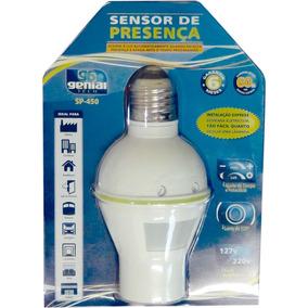 Sensor De Presenca Soquete Sp450 Lente 120g Bivot Un