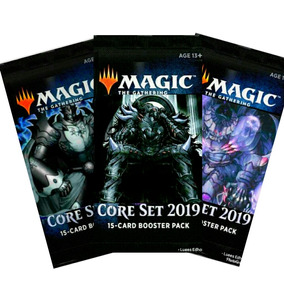 3x Booster Core Set 2019 Magic: The Gathering (tcgfan)