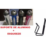 Kit Suporte +garrafinha Térmica caramanhola  Bike 600ml 583e9311a9804