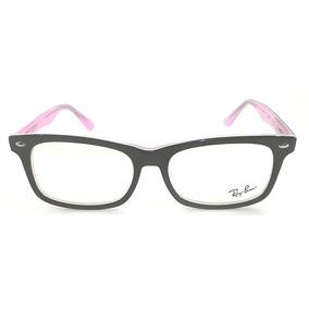 Armação Ray Ban (rosa) Rb6124 - Óculos no Mercado Livre Brasil d249ef13ef