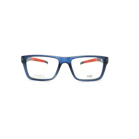 0ccb517381d83 Óculos De Grau Hb93119 737 Azul E Vermelho Lente 5,3 Cm