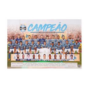 Poster Grêmio Campeão Gaúcho 2018
