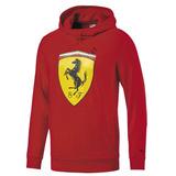 Sudadera Ferrari Motorsports Afelpada---corte Comodo--2018