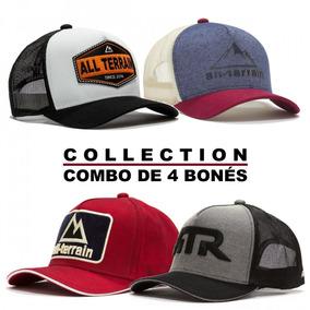 Combo Collection 4 Bonés All Terrain Atr Original Cnb2 02f5b4e8355