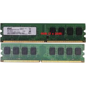 Kit Memória Ddr2 4gb (2x2gb) 800mhz Pc2-6400u