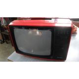 Tv Grundig Vintage A Revisar Alto 36x52x38 Cm