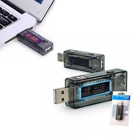 Testador E Medidor Usb De Voltagem Amperagem E Capacidade