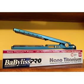 Originales Plancha Babyliss Pro Nano Titanium 1 Año Garantia