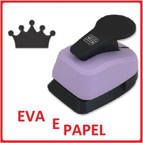 6f229d5b6 Perfurador Coroa Princesa Scrapbook Papel 26mm Tec - Acessórios para ...