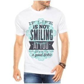 Camiseta Sorria Se Voce For - Camisetas para Masculino no Mercado ... fc811321617