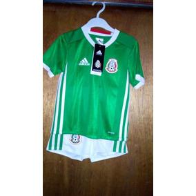 Uniforme Futbol Selección Mexicana adidas Para Niño Y Bebe 59fb79e421c75
