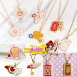 Collar Sakura Card Captor Colgante Muchos Modelos!