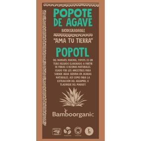 Caja Con 200 Popotes Biodegradables 100% Agave Ecologicos