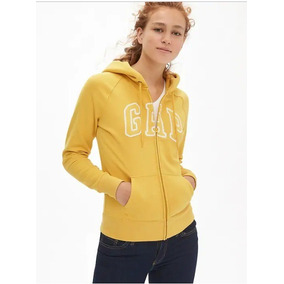 Sudadera Gap Mujer Color Oro Tallas M Y L