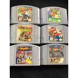 Juegos Nintendo 64 Mario Kart Súper Smash Tennis Golf Party