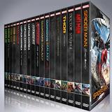 Colección Marvel En Dvd 21 Peliculas