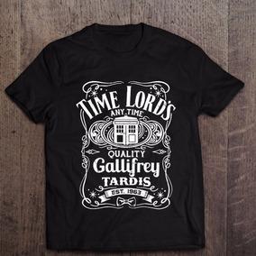 ef2380a4a Camiseta Doctor Who - Camisetas Manga Curta no Mercado Livre Brasil
