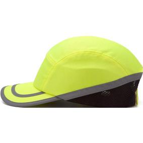 Gorra Casco De Seguridad Pyramex Safety Hp500 Hi-vis Verde