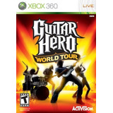 Guitar Hero World Tour Xbox 360 Nuevo Y Sellado