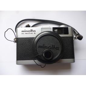 Câmera Analógica Minolta em São Paulo no Mercado Livre Brasil 13b6165561