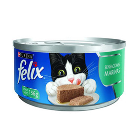 Alimento Para Gato Felix Sensaciones Marinas 156 G