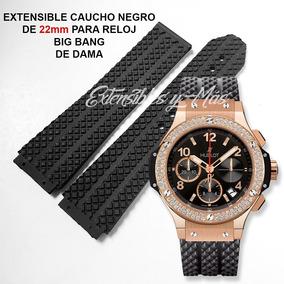 0b9c71b6c40e Correa De Hublot Caucho - Relojes en Mercado Libre México