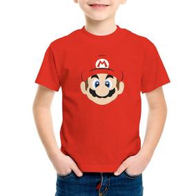 Playera Mario Bros Toad Luigi Niño Niña Nintendo Con Envío