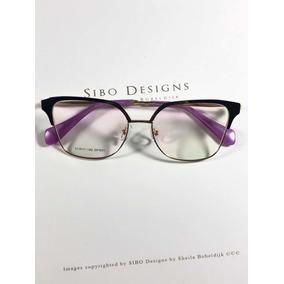 Armação Oculos Grau Feminino Original Metal Ale Df925 b7b6f71780