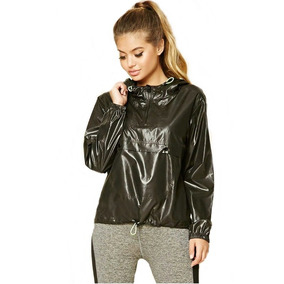 Rompevientos Deportivo Con Capucha Chamarra Forever 21 M