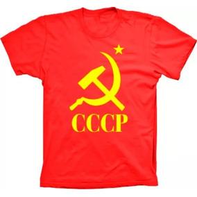 da48a8882e Ww2 Camiseta Comunista Cccp Tamanho - Camisetas e Blusas no Mercado ...