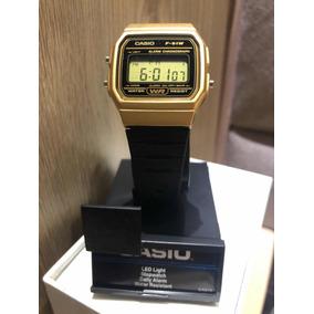 a7096815068 Relogio Original Casio Do Bolsonaro F 91w Dourado Frete Grat