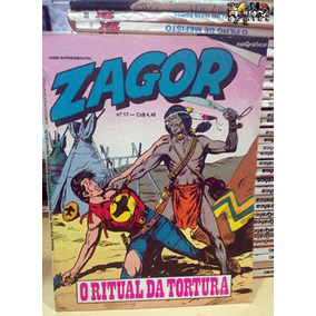 Zagor Nº 17 O Ritual Da Tortura Editora Rio Gráfica Ótimo