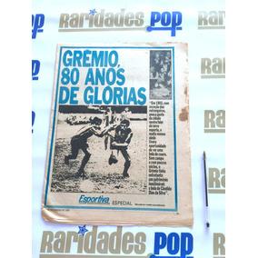 Grêmio 80 Anos Jornal Folha Tarde Campeão Libertadores 1983