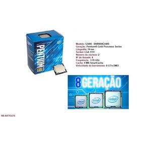 Processador Intel Pentium Gold G5400 Coffee Lake Lga 1151 4k