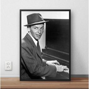 38ed04b11f06d ... Musica Jazz Pop Art 50x40cm. Goiás · Quadro Decorativo Frank Sinatra  Musico P6367