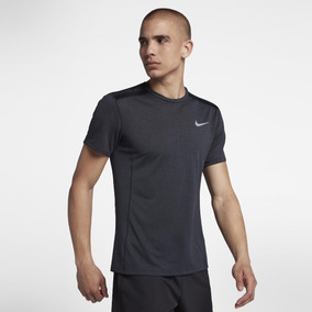d56b88ea9f Camiseta Nike Dri-fit Miler Cool Masculina Cinza Original+nf