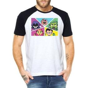 7e5e8902b Camisetas Desenhos Jovens Titans Camisas Roupa Alternativas