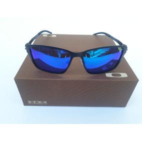 Oculos De Sol Oakley Squared Preto Lente Azulespelhada - Óculos De ... bb17449015