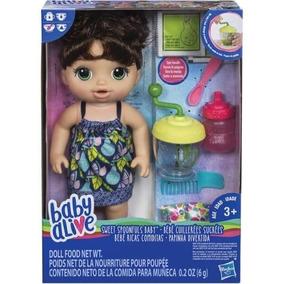 b4f45e95a2 Boneca Baby Alive Comer E Brincar Morena De 100 Reais - Bonecas Baby ...