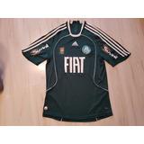 Camisa Do Palmeiras 2008 adidas Fiat Patch Campeão Paulista 92779e88fb789