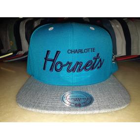 Gorra Snapback Charlotte Hornets Mitchell And Ness Original 0e4121f53ff