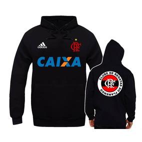 377a388551 Blusa De Frio Do Flamengo - Moletom Masculinas no Mercado Livre Brasil
