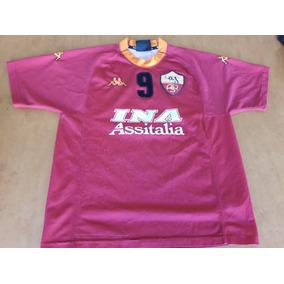 Camiseta Roma Batistuta Kappa 4fc1f15705083