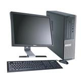 Combo De Computadora Dell Gx990 I5 Monitor De 17 Completa
