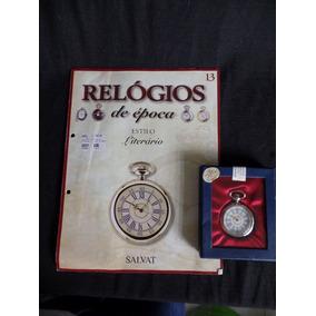 Coleção Relógios De Época - Número 13 - Literário - Salvat
