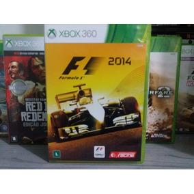 Jogo F1 Formula 1 2014 Xbox 360 Original Mídia Física
